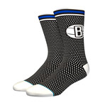 Nets Jersey Socks // Black (L)