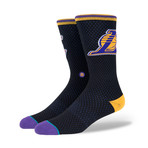 Lakers Jersey Socks // Black (M)