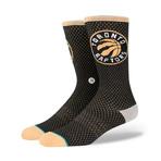 Raptors Jersey Socks // Gold (L)