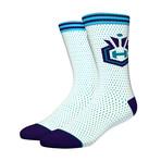 Hornets Jersey Socks // Blue (L)