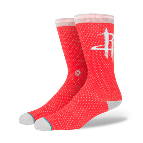 Rockets Jersey Socks // Red (M)