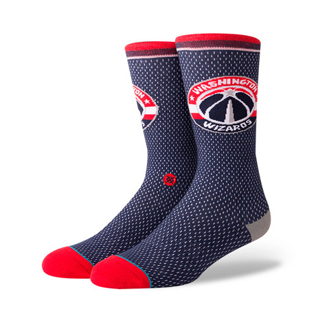 Wizards Jersey Socks // Navy (M)