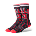 Bulls 96 Hwc Socks // Black (L)