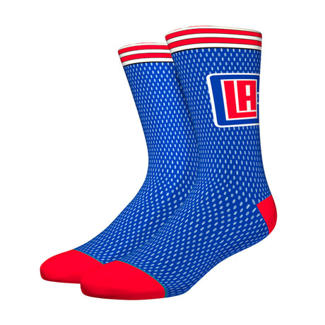 Clippers Jersey Socks // Blue (M)