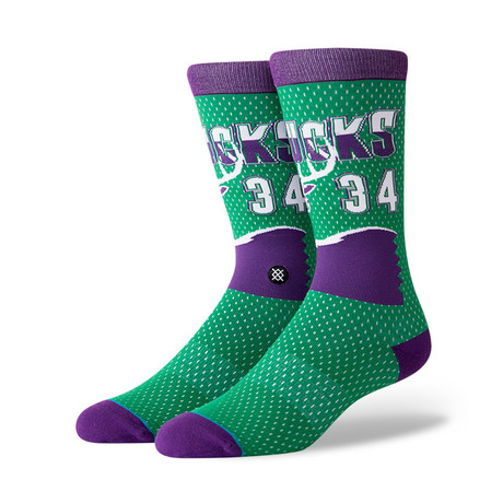 Bucks 96 HWC Socks // Green (M)