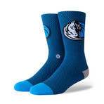 Mavs Jersey Socks // Navy (M)