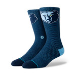 Grizzlies Jersey Socks // Navy (L)