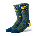Pacers Jersey Socks // Navy (L)