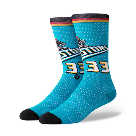 Pistons 96 Hwc Socks // Blue (M)