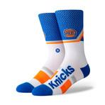 Knicks Shortcut Socks // Blue (M)