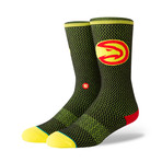 Hawks Jersey Socks // Black (M)