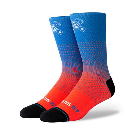 Pistons Gt 2K Socks // Blue (M)