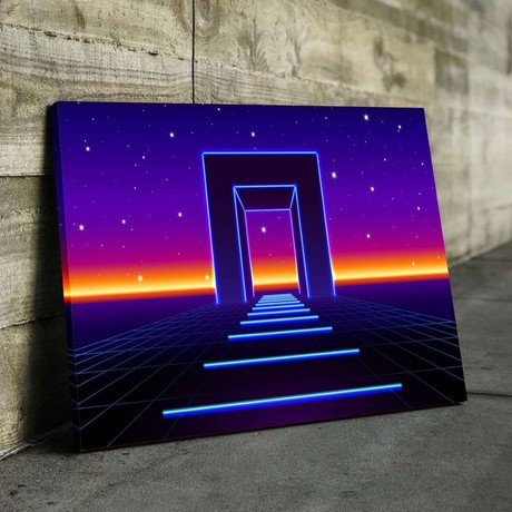 Gate To The Galactics Canvas Set (Medium // 1 Panel)