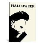 """Halloween // Minimalist Poster // Popate (18""""W x 26""""H x 0.75""""D)"""