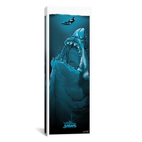 """Jaws // Joshua Budich (12""""W x 36""""H x 0.75""""D)"""