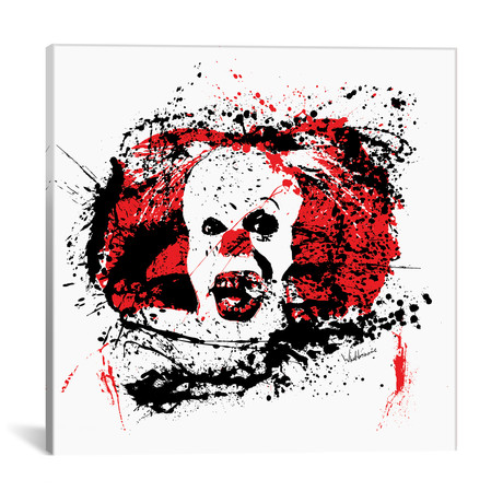 "Pennywise // Seb Whatshisname (18""W x 18""H x 0.75""D)"