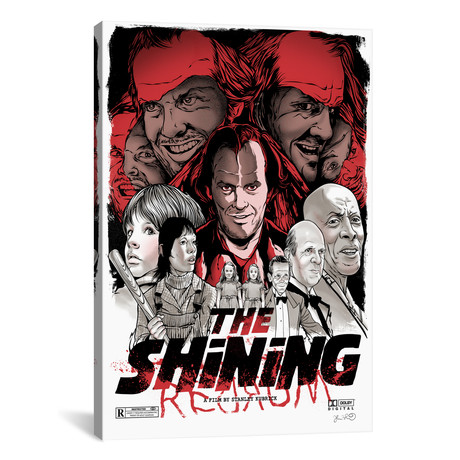 "The Shining // Joshua Budich (18""W x 26""H x 0.75""D)"