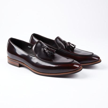 Jacques Tassel Slip-On Dress Shoes // Maroon (US: 6.5)