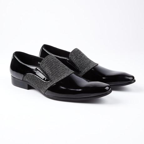 Cadel Dress Shoes // Black + White (US: 6.5)