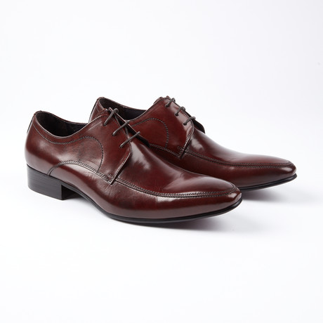 Sven Two Tone Lace-Up Dress Shoes // Brown (US: 6.5)