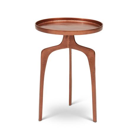 Vinya End Table (Vintage Copper)