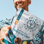 One For Neptune // Sea Jerky Smoked Sea Salt + Juniper // Pack of 3