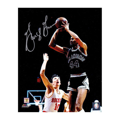 "George Gervin Signed San Antonio Spurs Shooting Action Photo // 8"" x 10"""