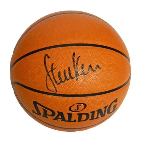 Steve Kerr Signed Spalding Game Series Replica NBA Basketball