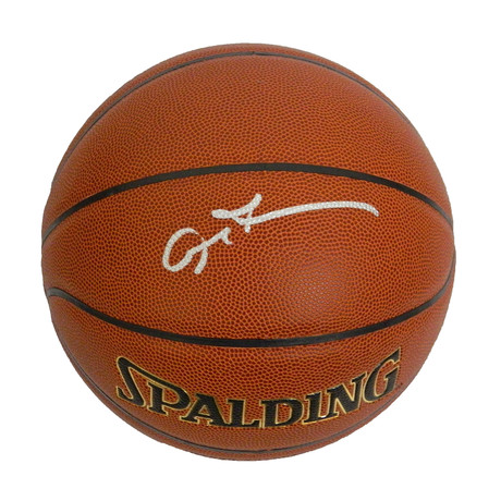 Allen Iverson Signed Spalding NBA Indoor/Outdoor Basketball