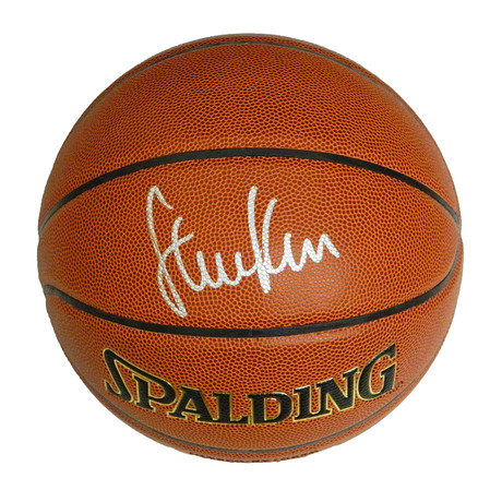 Steve Kerr Signed Spalding NBA Indoor/Outdoor Basketball