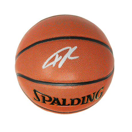 Giannis Antetokounmpo Signed Spalding NBA Indoor/Outdoor Basketball