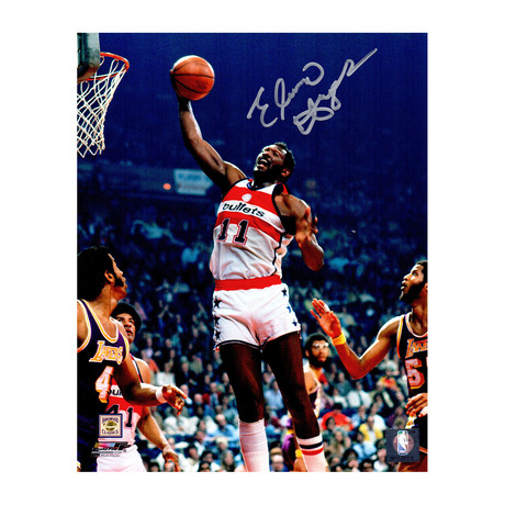 "Elvin Hayes Signed Washington Bullets Action Photo // 8"" x 10"""