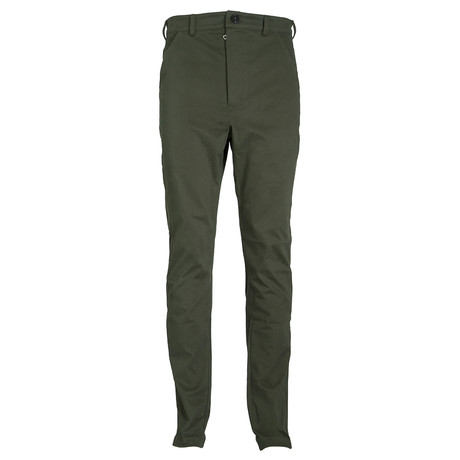 The Pursuit Tuxedo Pant // Military Green (XS)