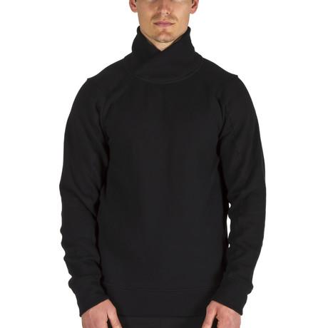 The Crossover Sweatshirt // Black (XS)