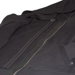 The Pinnacle Full-Zip Hoodie // Black (S)