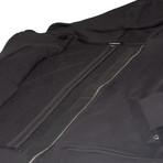 The Pinnacle Full-Zip Hoodie // Black (M)