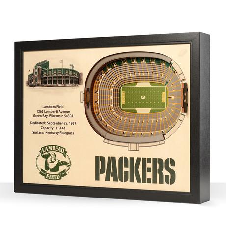 Green Bay Packers // Lambeau Field (5-Layer)
