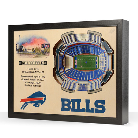 Buffalo Bills // New Era Field (5-Layer)