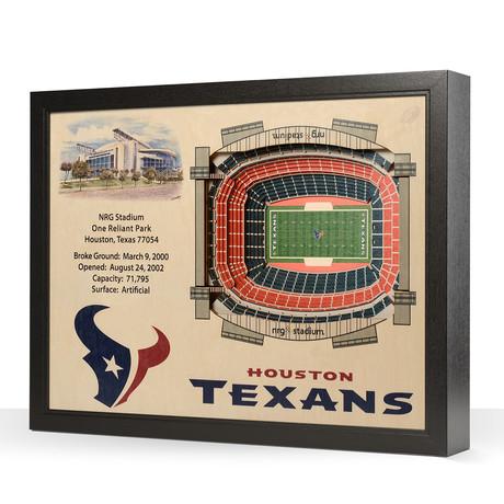 Houston Texans // NRG Stadium (5 Layers)