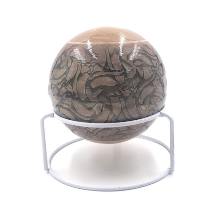 Automatic Fire Extinguisher Ball + Stand // Pearl