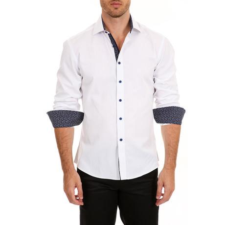 Ethan Long-Sleeve Shirt // White (XS)