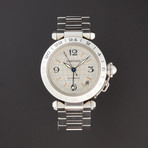 Cartier Pasha C GMT Automatic // W31078M7 // Pre-Owned