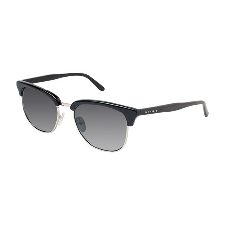 Dominic Club Polarized Sunglasses // Black