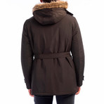 Kenneth Coat // Brown (Small)