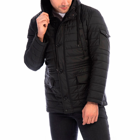 Bradley Coat // Black (Small)