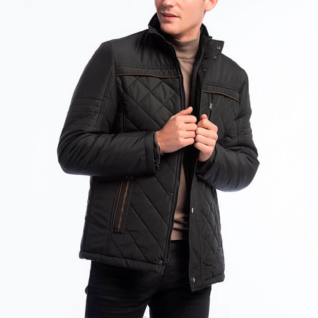 Harris Coat // Black (Small)