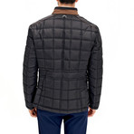 Ronald Coat // Black (X-Large)