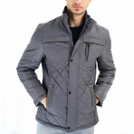 Kane Coat // Anthracite (Small)