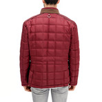 Jenson Coat // Burgundy (Small)