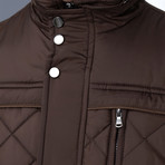 Chad Coat // Brown (Medium)